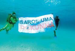 Saros'a liman planına tepki