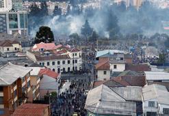 Ekvadorda sokağa çıkma yasağı Ülke çalkalanıyor