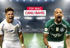 Santos ve Palmeiras maçının canlı iddaa heyecanı misli.comda