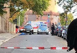 Almanyada sinagog ve Türk dönercisinde silahlı saldırı: 2 kişi öldü