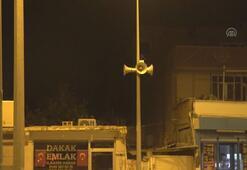 Ceylanpınar Belediyesine ait hoparlörlerden mehter marşları çalınıyor
