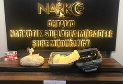 Antalya Havalimanında uyuşturucu operasyonu... 5 kilo ele geçirildi
