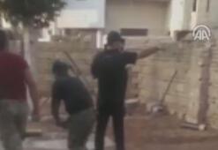 Teröristlerin Türkiyeye saldırısı kamerada