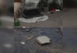 YPG/PKK Celabrus'ta bir evi bombaladı