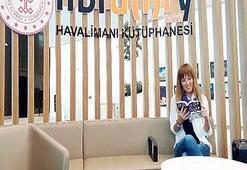 İstanbul Havalimanı'nda 2 bin kitaplık kütüphane