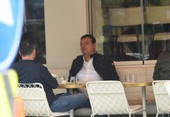 Ergin Ataman'ın öğlen kahvesi