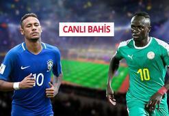 Brezilya-Senegal canlı bahis heyecanı Misli.comda