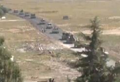 Akçakale ilçesinin Suriye sınırında askeri hareketlilik sürüyor