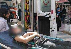 Sokakta yürüyen çocuk pompalı tüfekle ağır yaralandı