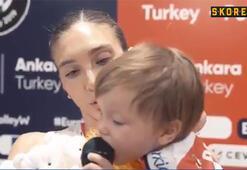 Naz Aydemir Akyol ve oğlu Pamirden dikkat çeken röportaj