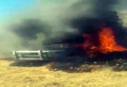Havan atışı yapan teröristlerin vurulma anı görüntülendi