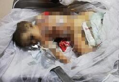 9 aylık bebeğin katillerine  tepki yağdı