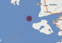 Son dakika | Ege Denizinde korkutan depremler