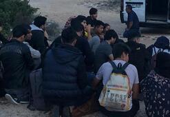 56 göçmen böyle yakalandı