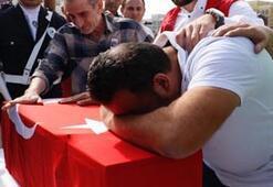 Akçakalede şehit olan Muhammed bebek ve Cihan Güneş için tören