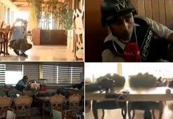 YPGli teröristler gazetecilerin bulunduğu otele ateş açtı