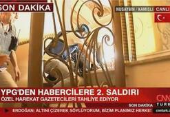 YPGden habercilere ikinci saldırı