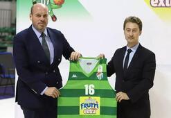 Basketbolda yeni heyecan Frutti Extra Bursaspor