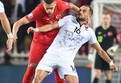 Milli maçta gerginlik Merih Demiral...