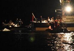 Son dakika | Muğlada düzensiz göçmenleri taşıyan lastik bot battı