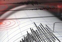 Ege Deniziden deprem Büyüklüğü...