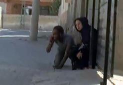 YPG sivillere saldırdı Gazetecilerin kaldığı otel yakınına havan düştü