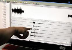 Akdenizde deprem Büyüklüğü...