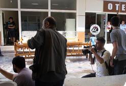 Akçakalede gazetecilerin kaldığı otelin yakınına havan düştü