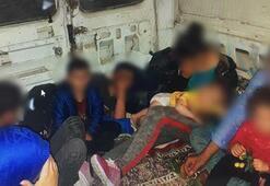 Kuşadasında 24 kaçak göçmen yakalandı