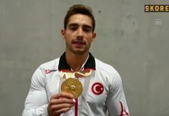Cimnastikte İbrahim Çolaktan altın madalya
