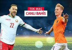 Belarus-Hollanda maçının canlı bahis heyecanı Misli.comda