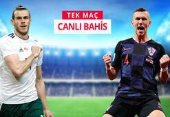 Galler - Hırvatistan maçı canlı bahisle Misli.comda