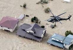 Japonyada tayfun felaketi