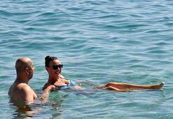 Antalyada sıcaklık 33 dereceyi gördü
