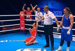 Busenaz Sürmeneli 69 kiloda dünya şampiyonu oldu Busenaz Sürmeneli kimdir