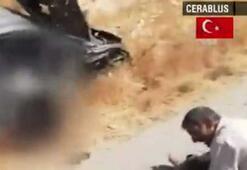 Terör örgütü PG/PKK füzeyle sivilleri vurdu: 2 ölü