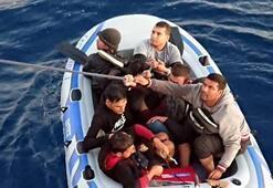 5 saat arayla 18 göçmen böyle yakalandı
