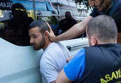 Son dakika: Beşiktaşta slogan atan HDPlilere polis müdahale etti