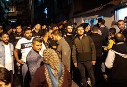 Polis zor kurtardı Mahalleli o iddia sonrası sokağa döküldü