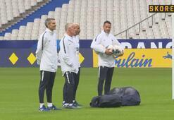 Fransada Türkiye maçı hazırlıkları