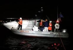 Kadıköy'de tekne kurtarma operasyonu