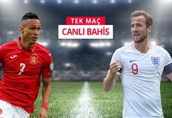 Bulgaristan - İngiltere maçı heyecanı Misli.comda