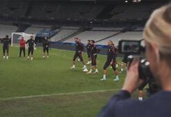 Milli Takımdan Fransa maçı öncesi paylaşım
