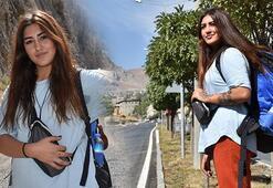 Genç kız otostopla çıktığı Türkiye turunu tamamladı