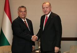 Cumhurbaşkanı Erdoğan, Macaristan Başbakanı Orbanı kabul etti