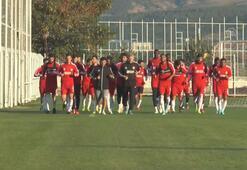 Demir Grup Sivassporda neşeli antrenman