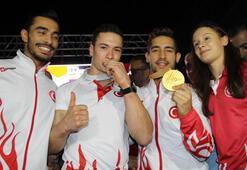 Dünya şampiyonu Çolaka coşkulu karşılama