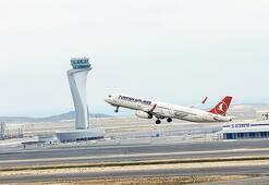 İstanbul Havalimanı'nda 3 piste eş zamanlı iniş