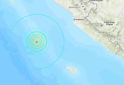 Endonezyada 5.9 büyüklüğünde deprem
