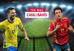 İsveç-İspanya maçına Misli.comda canlı oyna